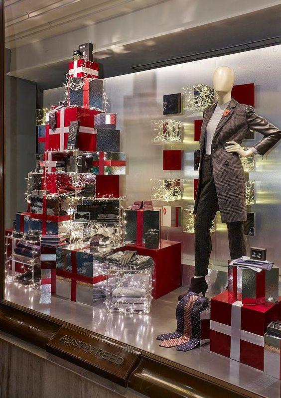 Vitrines de Natal: Como Montar uma Decoração para Lojas