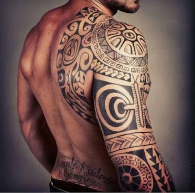 Tatuagem Maori no Braço - Significado, Modelos e Fotos