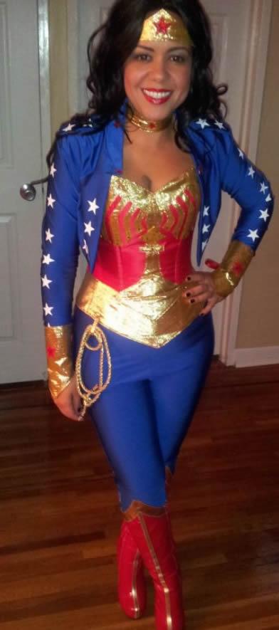 fantasia de mulher maravilha para o carnaval