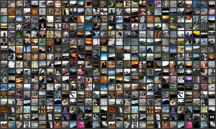 Como fazer um mosaico de fotos